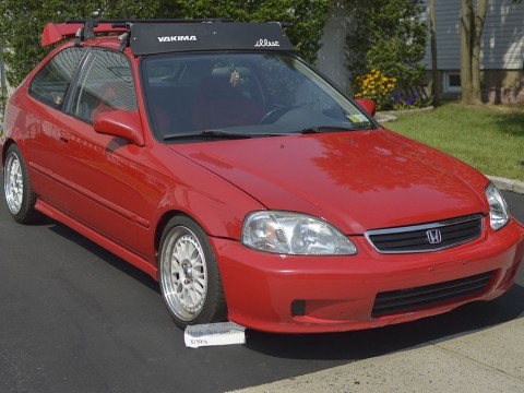 JDM 1999 Honda Civic EK Hatchback Modified f20b for sale