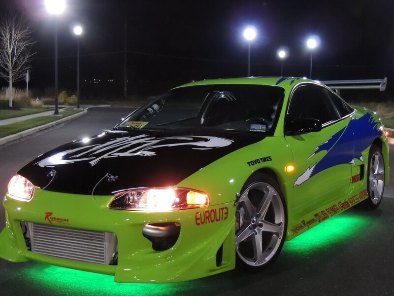 Fast Kit Cars >> 1999 Mitsubishi Eclipse FAST AND Furious Clone Replica Paul Walker Tribute for sale