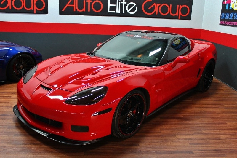 2007 Chevrolet Corvette Custom Zr1 Body Kit Cor Wheel