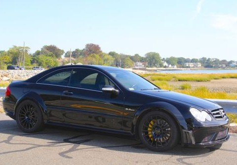 2008 Mercedes Benz CLK63 Black Series for sale