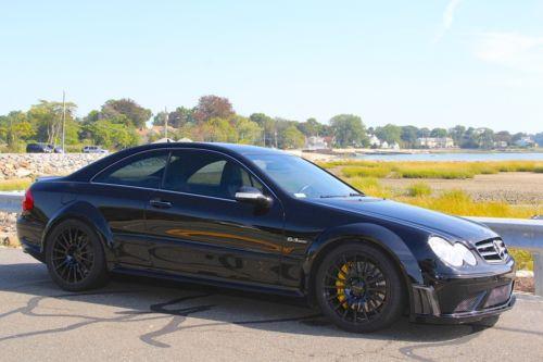 2008 Mercedes Benz CLK63 Black Series