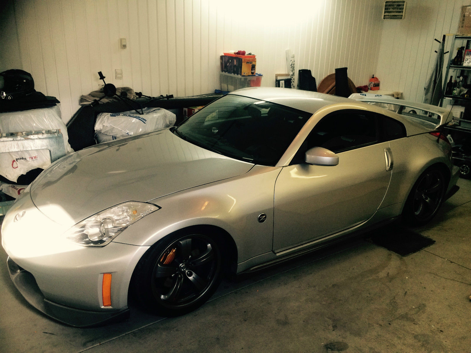 2008 nissan 350z nismo coupe 2 door 3 5l for sale. Black Bedroom Furniture Sets. Home Design Ideas