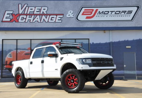 "2013 Ford F-150 Raptor ""Trophy Stadium Truck"" for sale"