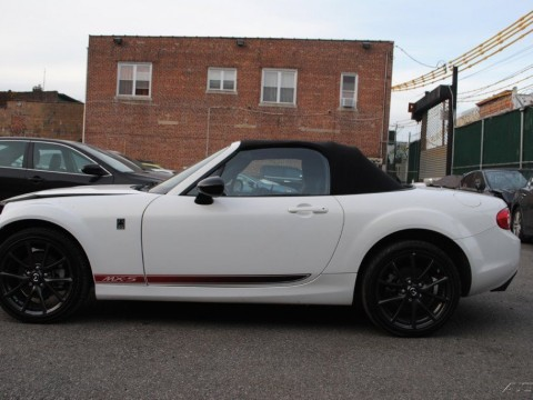 2015 Mazda MX 5 Miata Club 6 S Speed Manual Stick Shift 6MT White Pearl for sale