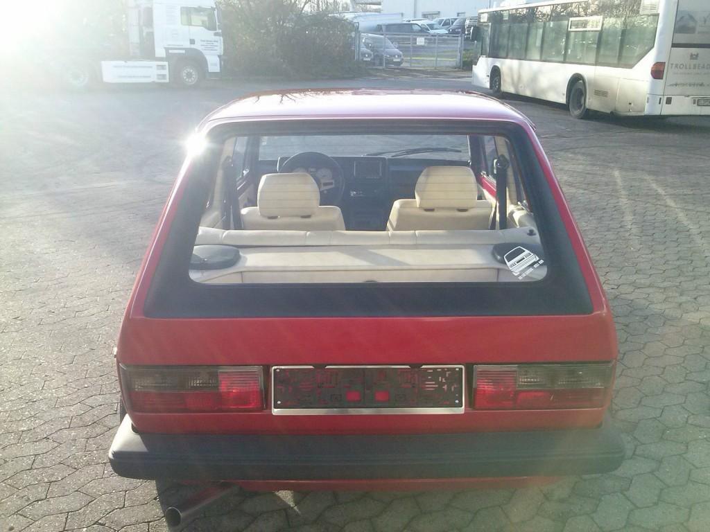 1982 VW Golf 1 GTI tuning