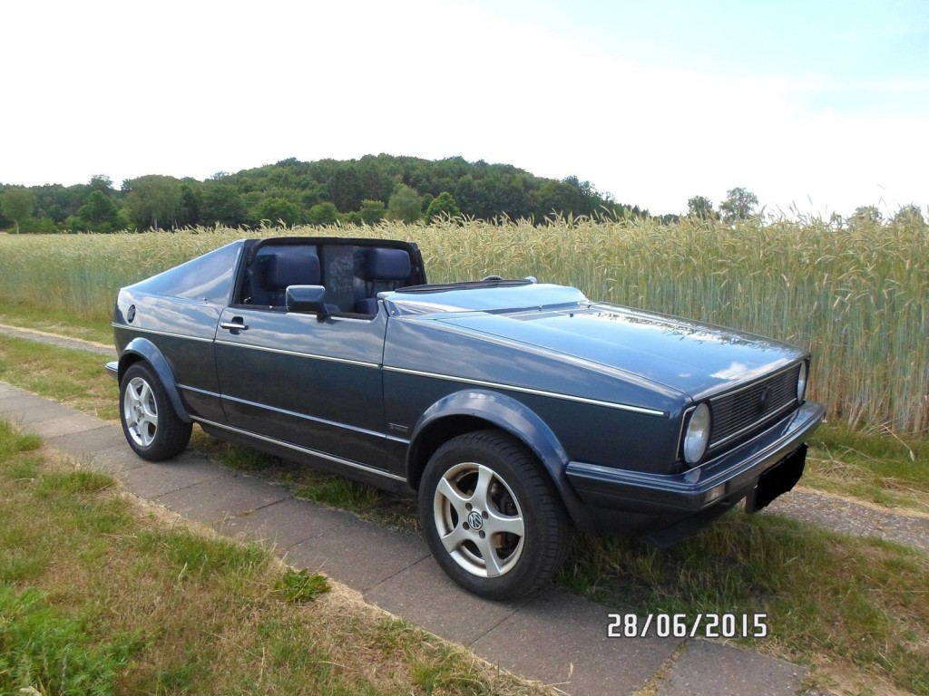 1986 Vw Golf 1 Cabrio Roadster Custom Tuning For Sale