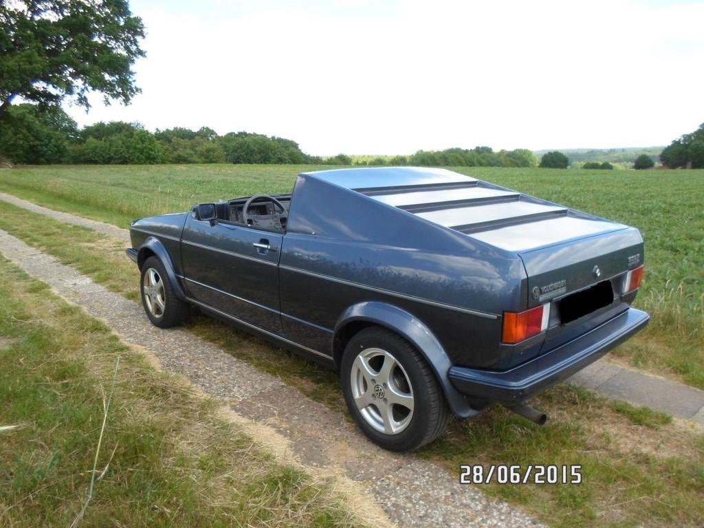 1986 VW Golf 1 Cabrio Roadster Custom Tuning
