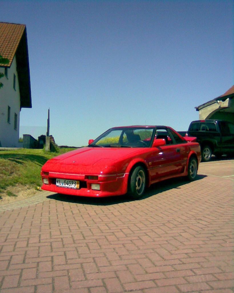 1990 Toyota Kult MR2 (mini Ferrari)