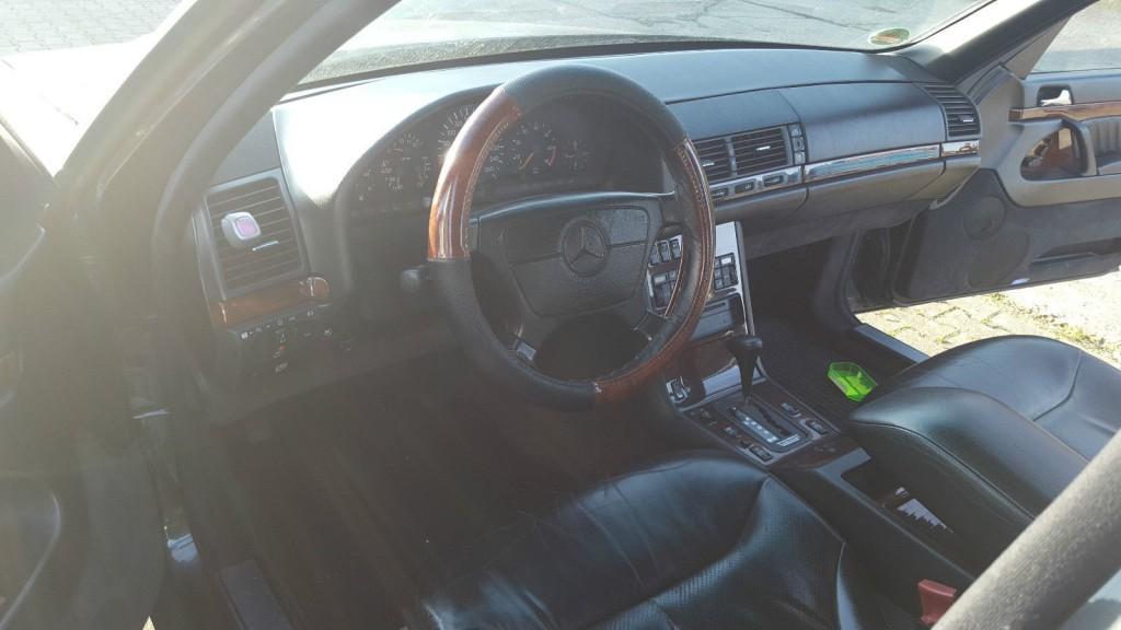 1992 Mercedes Benz, S Klasse, S400 W140