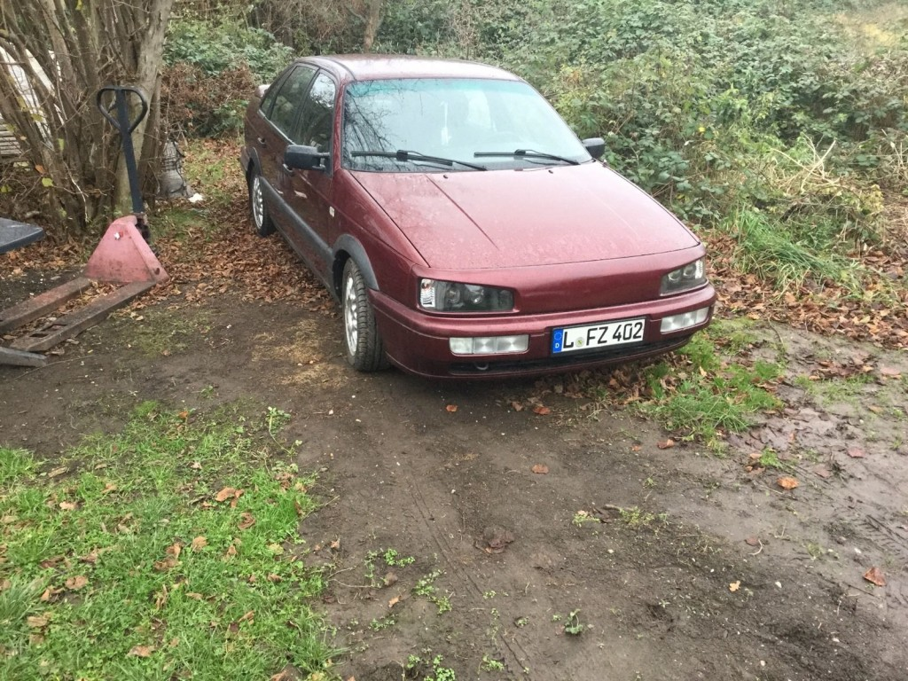 1992 VW Passat 35i tuning