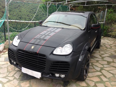 2004 Porsche Cayenne Magnum V8 4,5 22 Techart Alus for sale