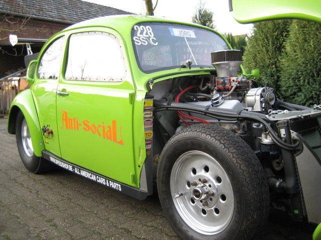 1969 VW Beetle V8 Dragster