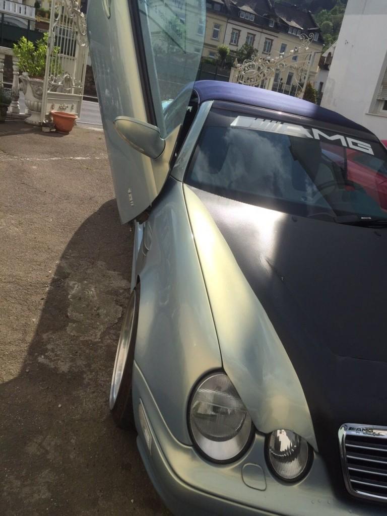 Mercedes Benz CLK 230 Kompressor Cabrio Showcar