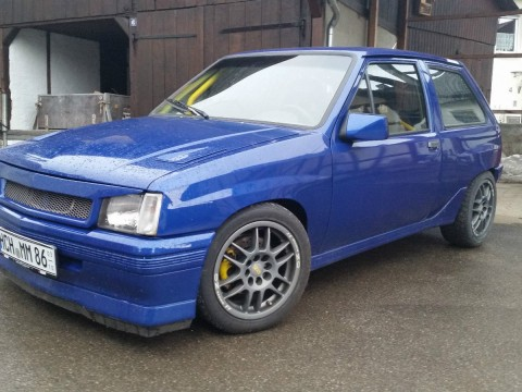 1990 Opel Corsa A 2.0 16V C20xe 150ps Tuning Rennsport Käfig OZ Sparco Gewinde for sale