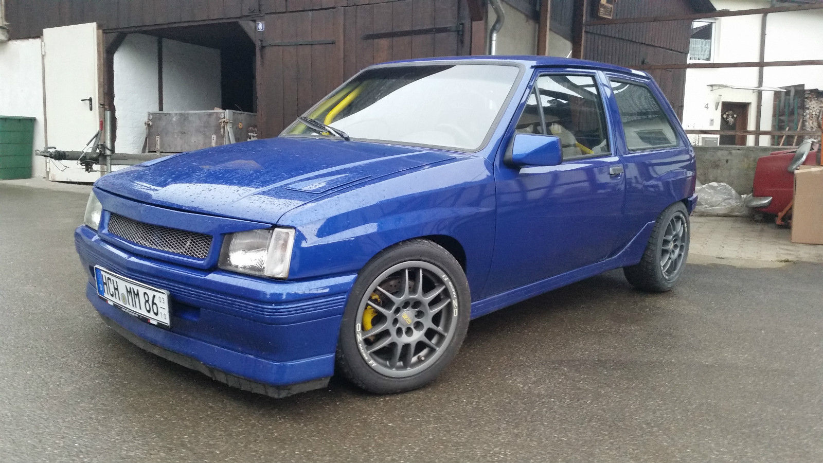 1990 opel corsa a 2 0 16v c20xe 150ps tuning rennsport k fig oz sparco gewinde for sale. Black Bedroom Furniture Sets. Home Design Ideas