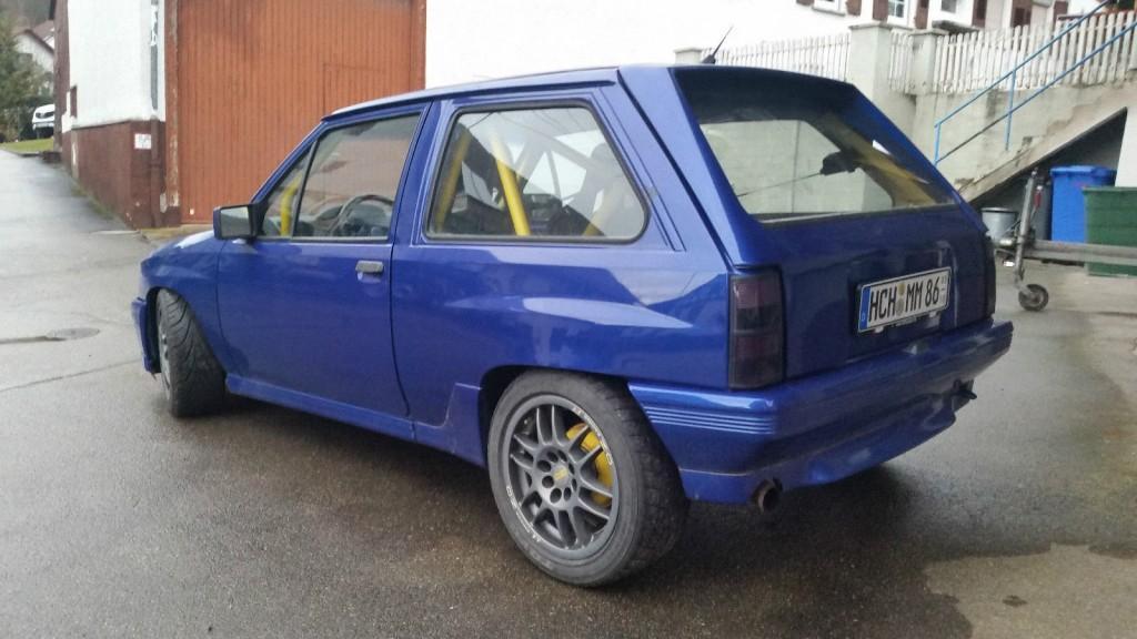 1990 Opel Corsa A 2.0 16V C20xe 150ps Tuning Rennsport Käfig OZ Sparco Gewinde
