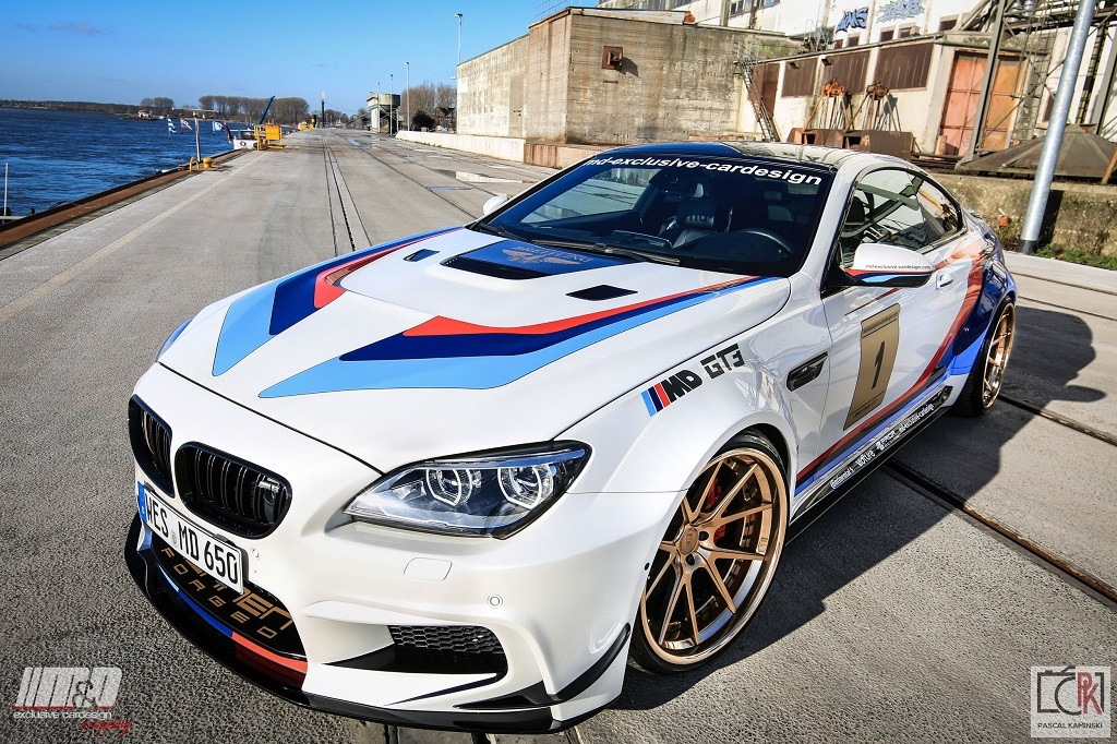 2011 BMW 650i Coupe 6er/f13, M6 GT3 Widebody, 21″ Rennen Forged Uvm… 500ps / 720NM