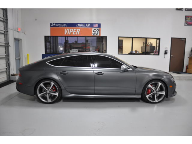 Custom Dodge Charger >> 2014 Audi RS7 Matt Black with Exclusive Package APR Tune for sale