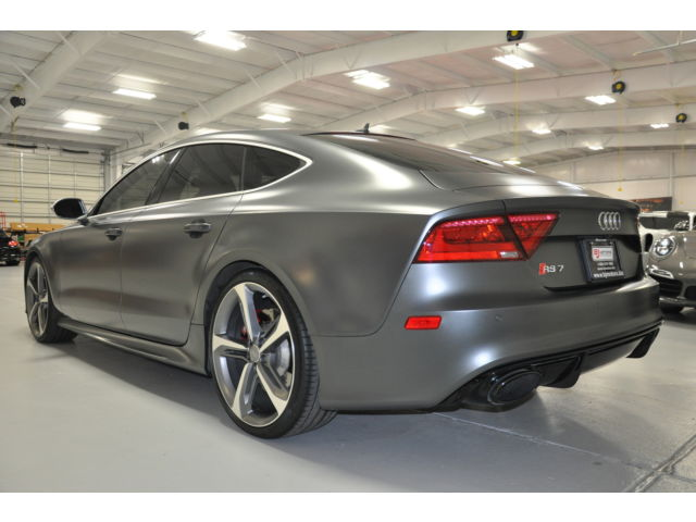 2014 Audi RS7 Matt Black with Exclusive Package APR Tune