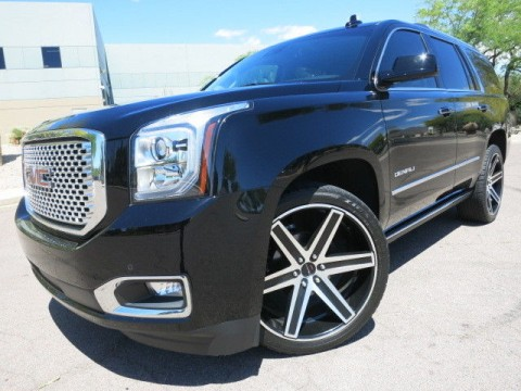 2015 GMC Yukon Denali 4WD Custom 24″ Giovanna Whls for sale